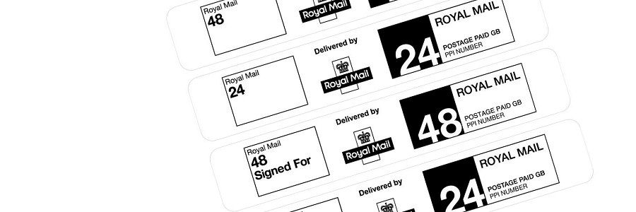 Royal Mail postage labels - included in the licence package