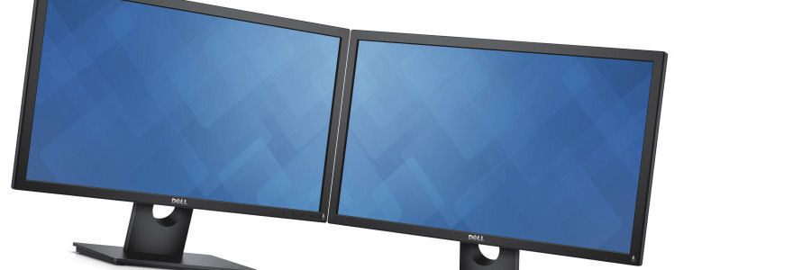 Dual monitors, part of the Manchester licence package